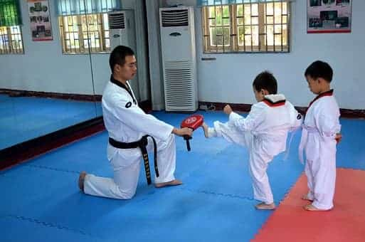 Karate, Taekwondo
