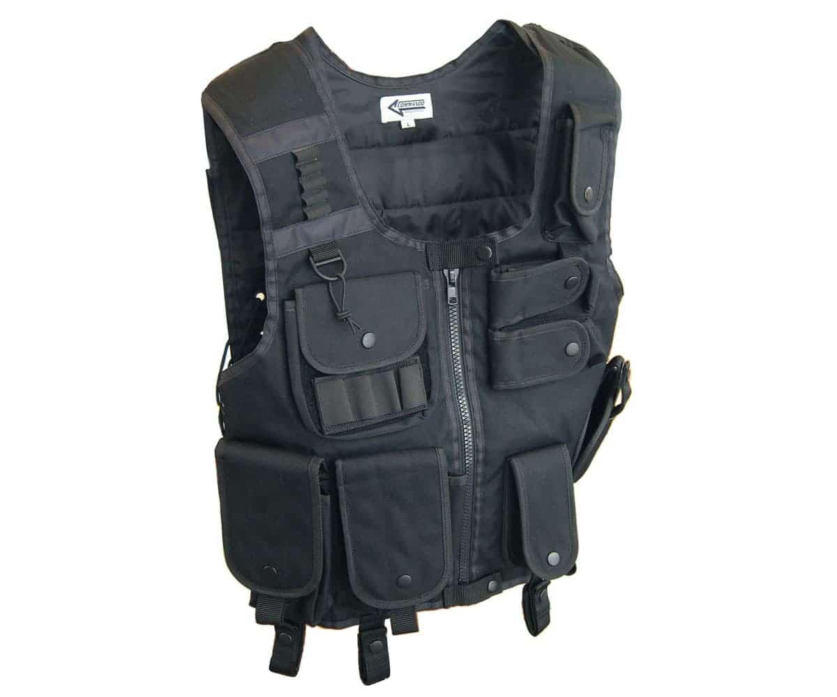 Swat 1 Weste schwarz