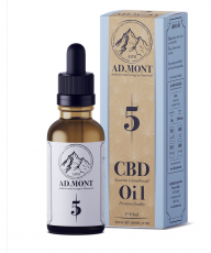 AD.MONT 5 % CBD Oil - 10 ml