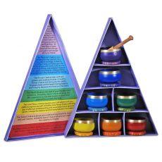 Chakra Klangschalen-Geschenkset