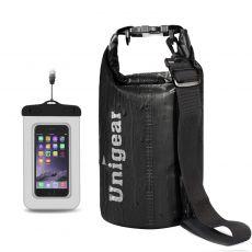 Unigear Dry Bag, 5L wasserdichteTasche mit Handytasche
