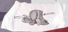 Kendo-Kopftuch