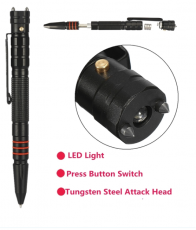Tactical Pen Self Defense Tool mit Strobe Modus