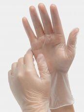 Winlyex 10x Puderfreie Einweghandschuhe Größe M