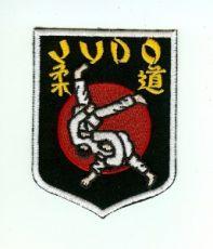 Judo Aufnäher Wappenform II