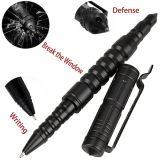 Anti-Slip Aviation Aluminum Alloy Self Defense Tactical Pen Metal Ball Point Pen Writing Pen